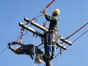 Высотные электромонтажные работы