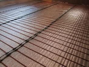 Монтаж карбонового теплого пола в Туле