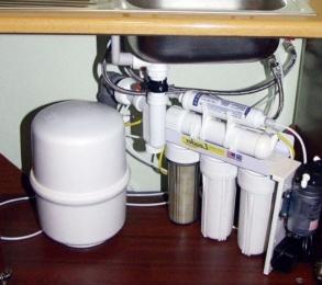 Установка фильтров для очистки воды Тула