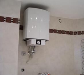 Установка водонагревателя Туле